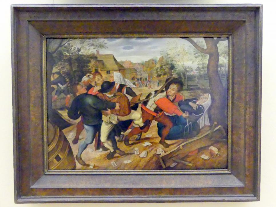 Jan Brueghel der Jüngere: Bauernschlägerei, 1622