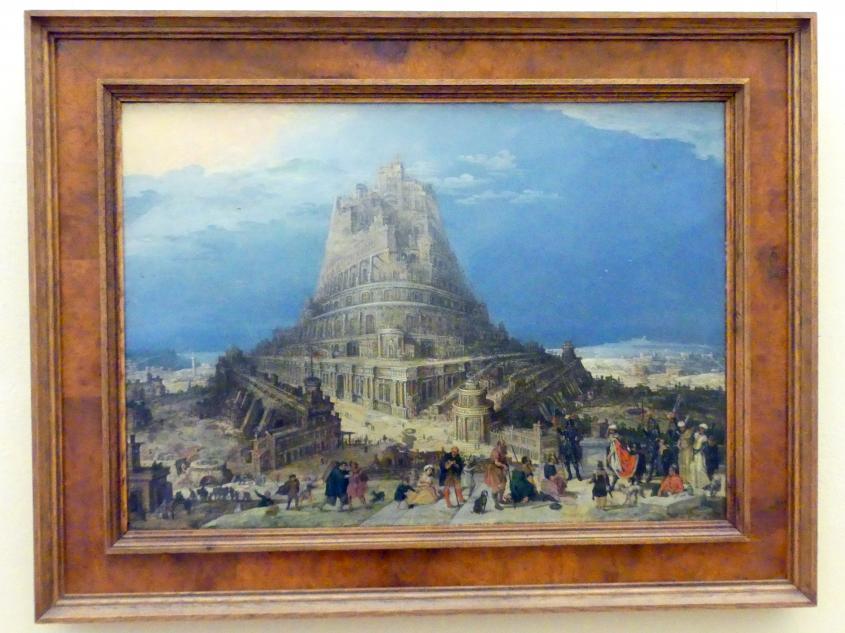 Turmbau zu Babel, Beginn 17. Jhd.
