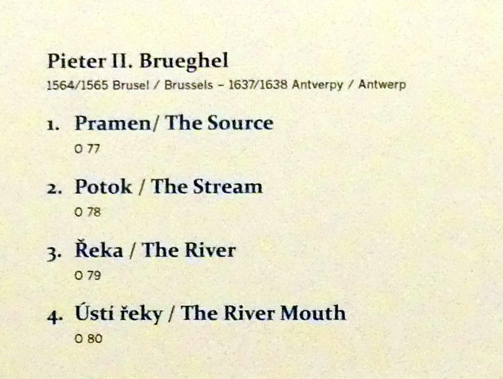 Pieter Brueghel der Jüngere (Höllenbrueghel): Bach, Undatiert