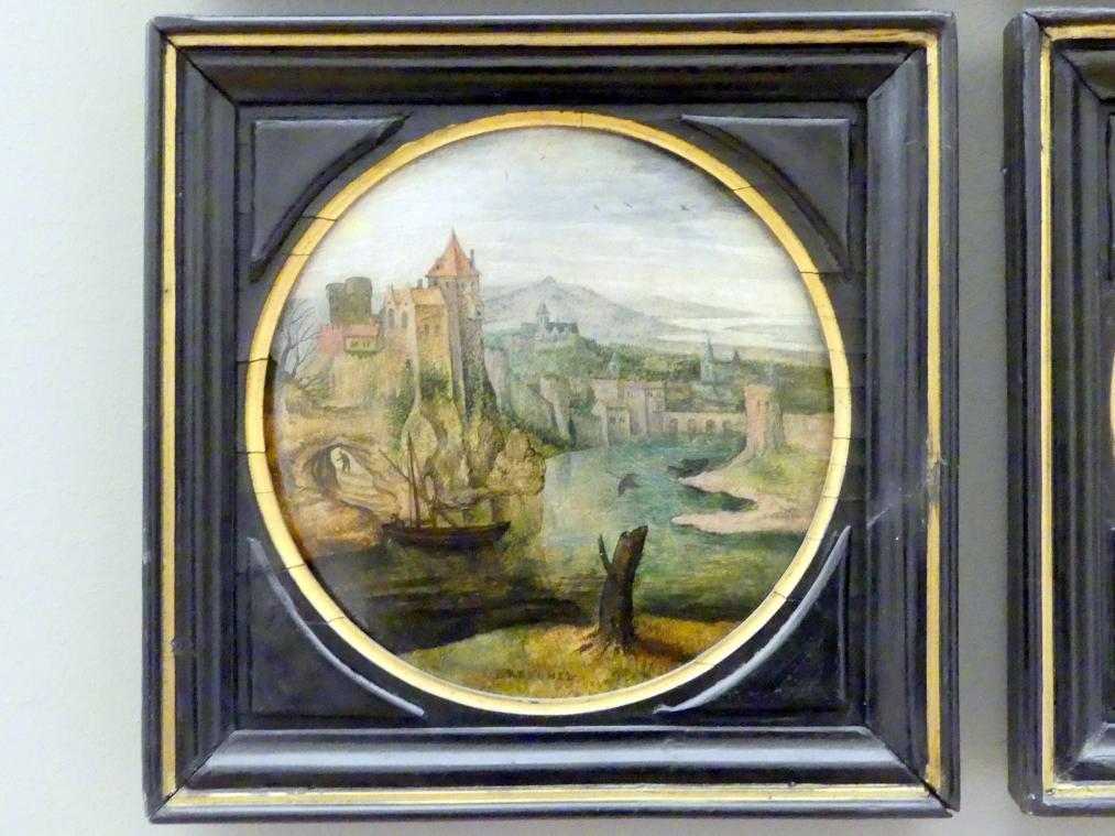 Pieter Brueghel der Jüngere (Höllenbrueghel): Fluss, Undatiert