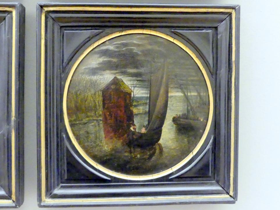 Pieter Brueghel der Jüngere (Höllenbrueghel): Flussmündung, Undatiert
