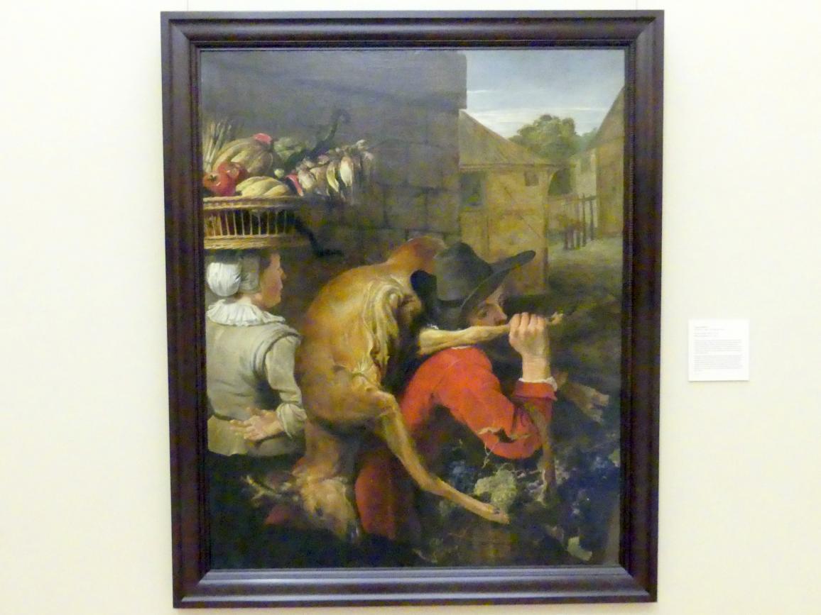 Frans Snyders: Weg zum Markt, Um 1650