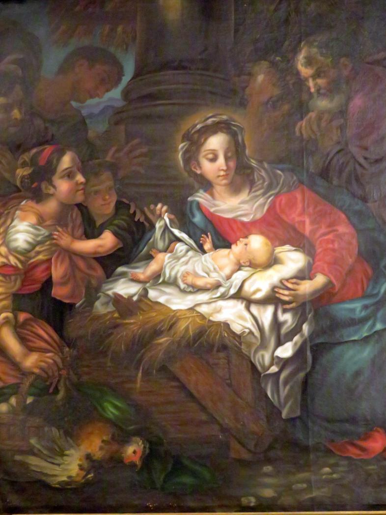 Johann Michael Rottmayr: Anbetung der Hirten, 1691