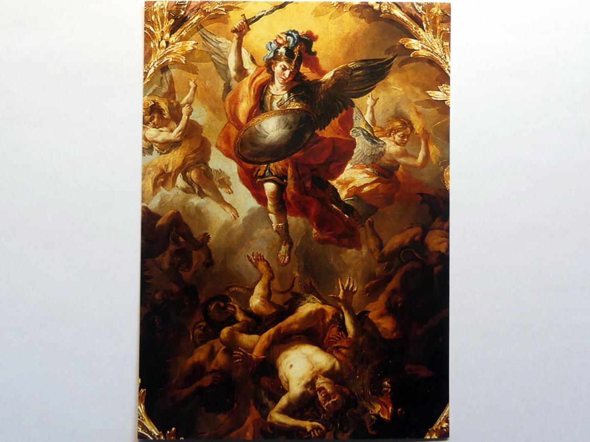 Johann Michael Rottmayr: Erzengel Michael, 1723