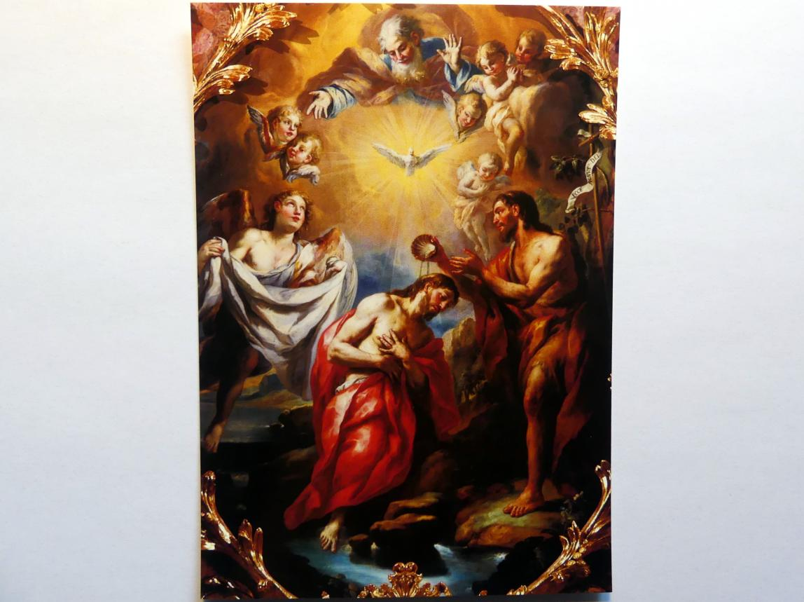 Johann Michael Rottmayr: Taufe Christi, 1727
