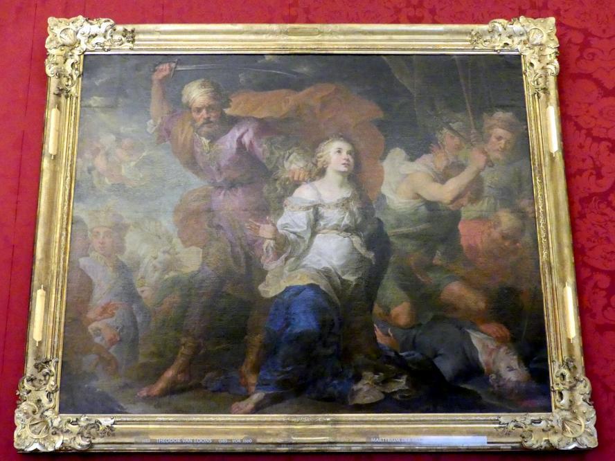 Theodoor van Loon: Martyrium der hll. Dymphna und Gerbert, Undatiert