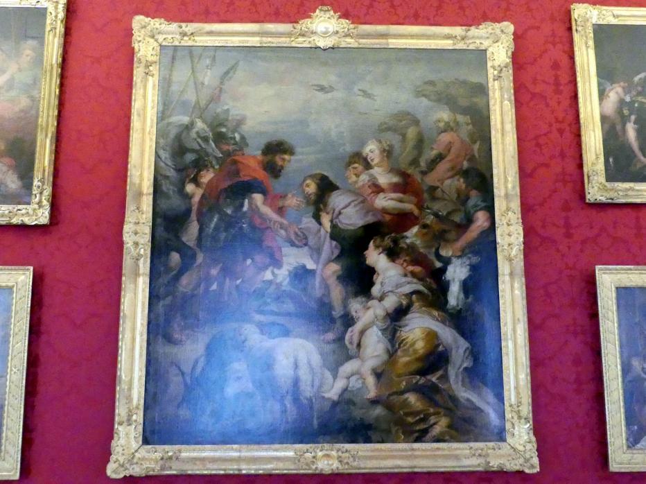 Peter Paul Rubens: Die Versöhnung von Esau und Jakob, Undatiert