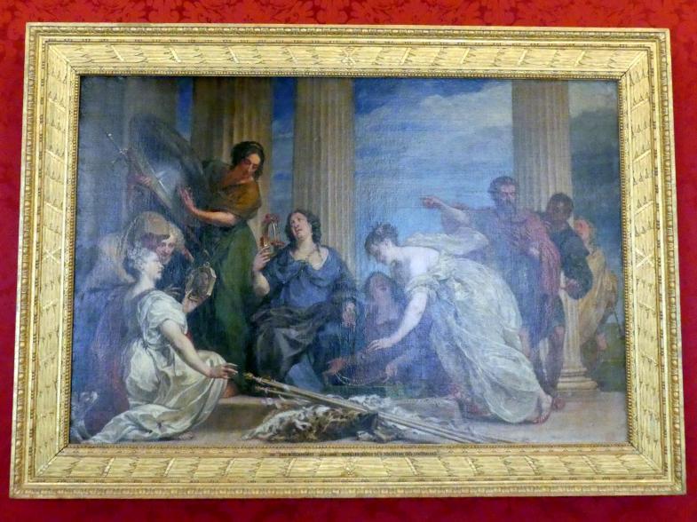 Johann Bockhorst (Jan Boeckhorst): Achilles unter den Töchtern des Lykomedes, Undatiert