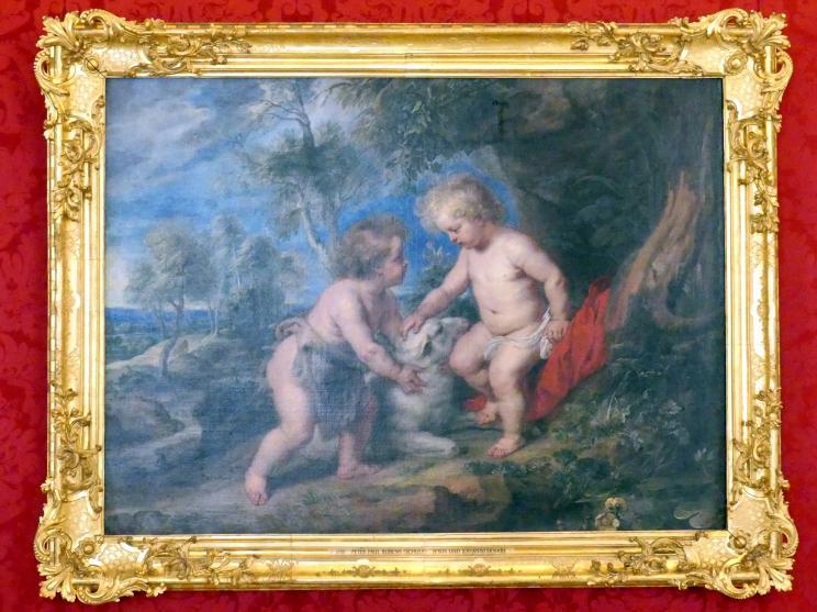 Peter Paul Rubens (Schule): Jesus und Johannesknabe, Undatiert