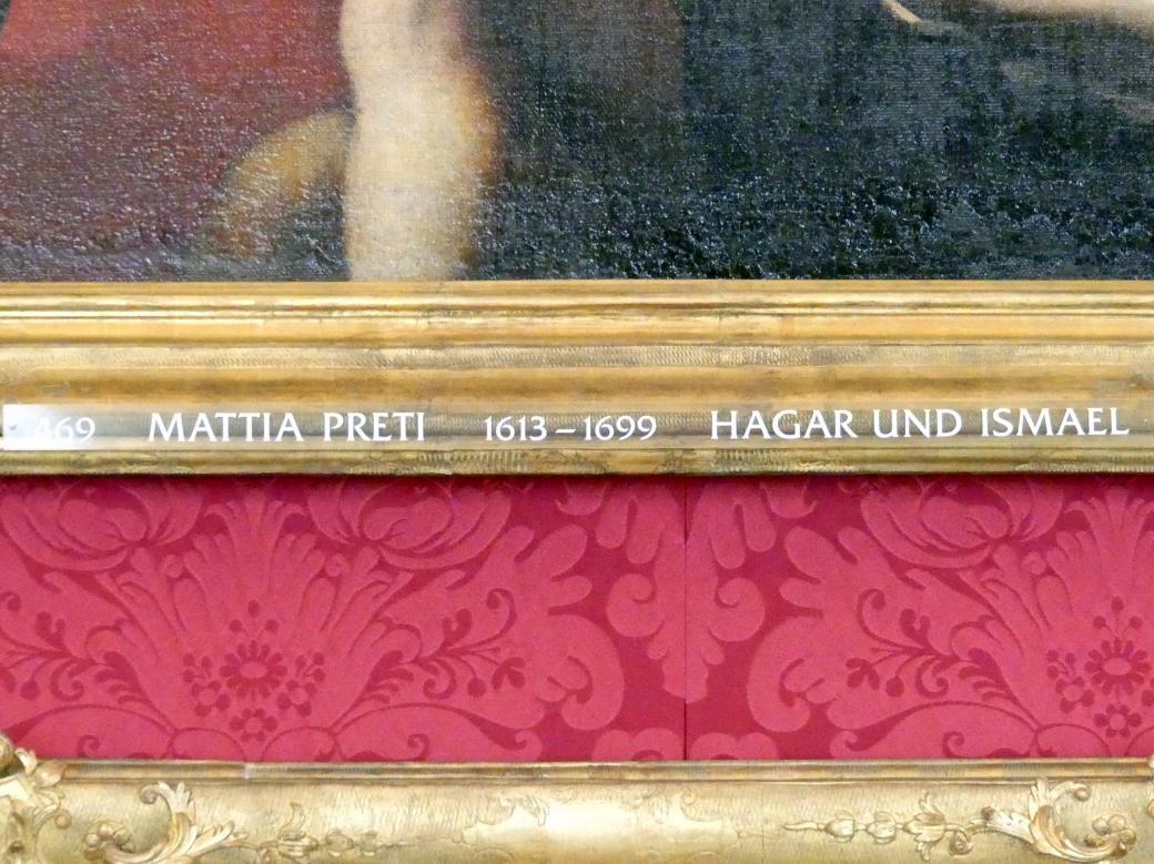 Mattia Preti: Hagar und Ismael, Undatiert