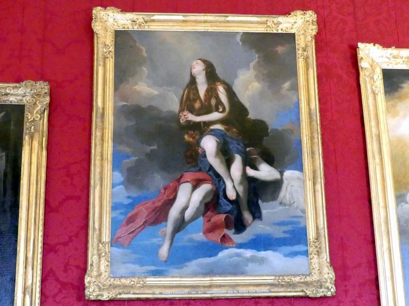 Guido Cagnacci: Himmelfahrt der hl. Maria von Ägypten, Undatiert