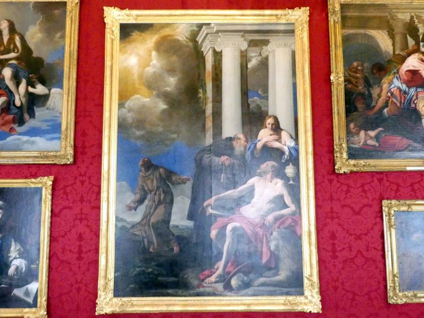 Carlo Saraceni: Die hll. Hieronymus, Maria Magdalena, Antonius der Einsiedler und Franziskus, Undatiert