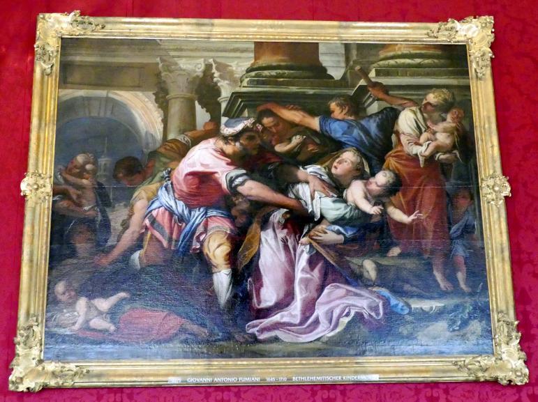 Giovanni Antonio Fumiani: Bethlehemitischer Kindermord, Undatiert