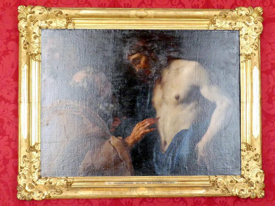 Daniel Seiter (Seyter): Der ungläubige Thomas, Undatiert