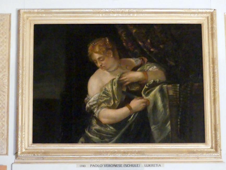 Paolo Veronese (Schule): Lukretia, Undatiert