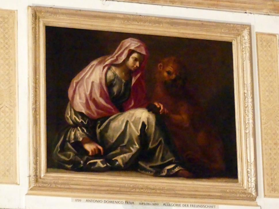 Antonio Domenico Triva: Allegorie der Freundschaft, Undatiert