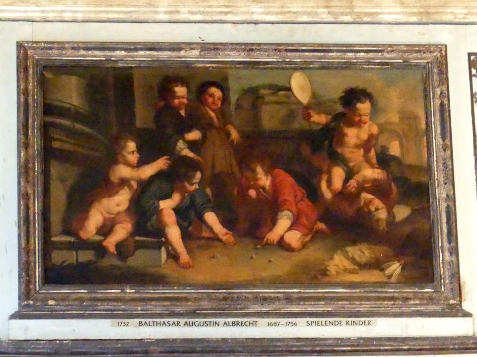 Balthasar Augustin Albrecht: Spielende Kinder, Undatiert