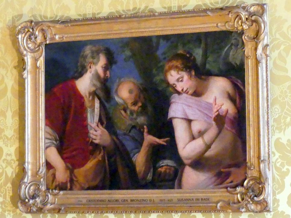 Cristofano Allori: Susanna im Bade, Undatiert