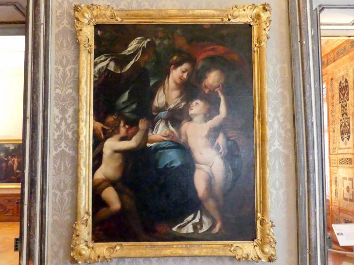 Giulio Cesare Procaccini: Die heilige Familie, Undatiert