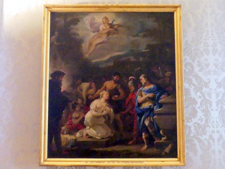 Luca Giordano: Die Opferung der Polyxena, Undatiert