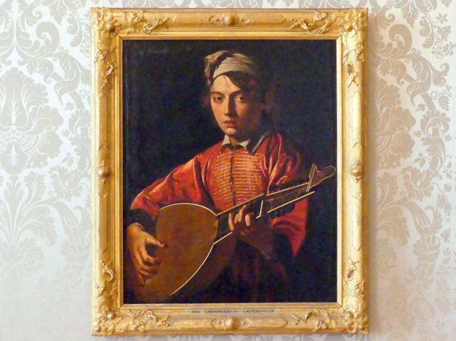Michelangelo Merisi da Caravaggio: Lautenspieler, Undatiert