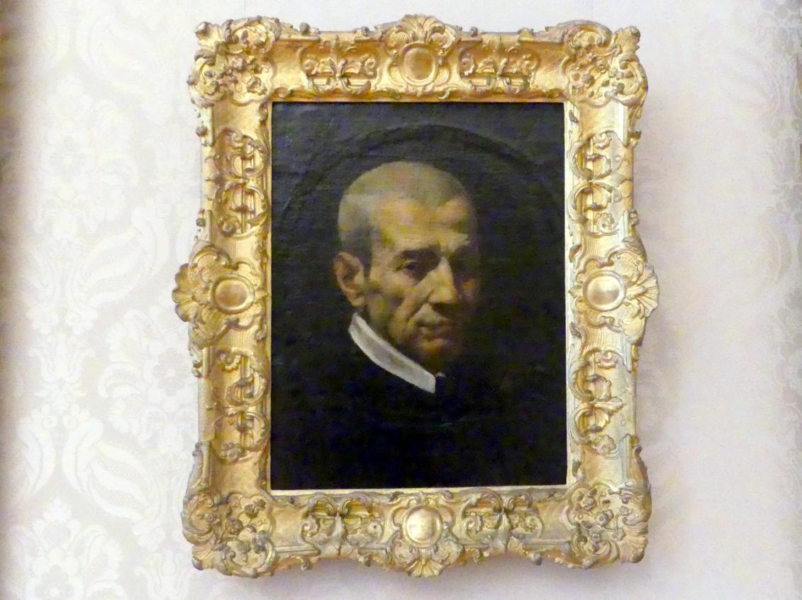 Pietro Faccini: Männliches Bildnis (Giovanni Battista Agucchi?), Undatiert