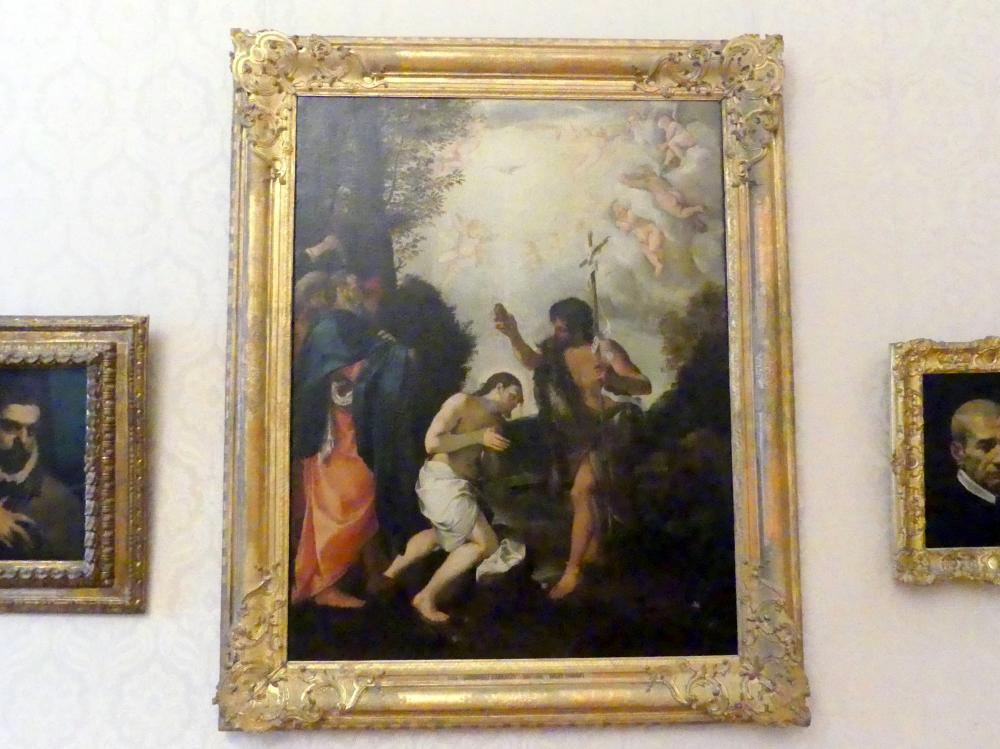 Ludovico Carracci: Taufe Christi, Undatiert
