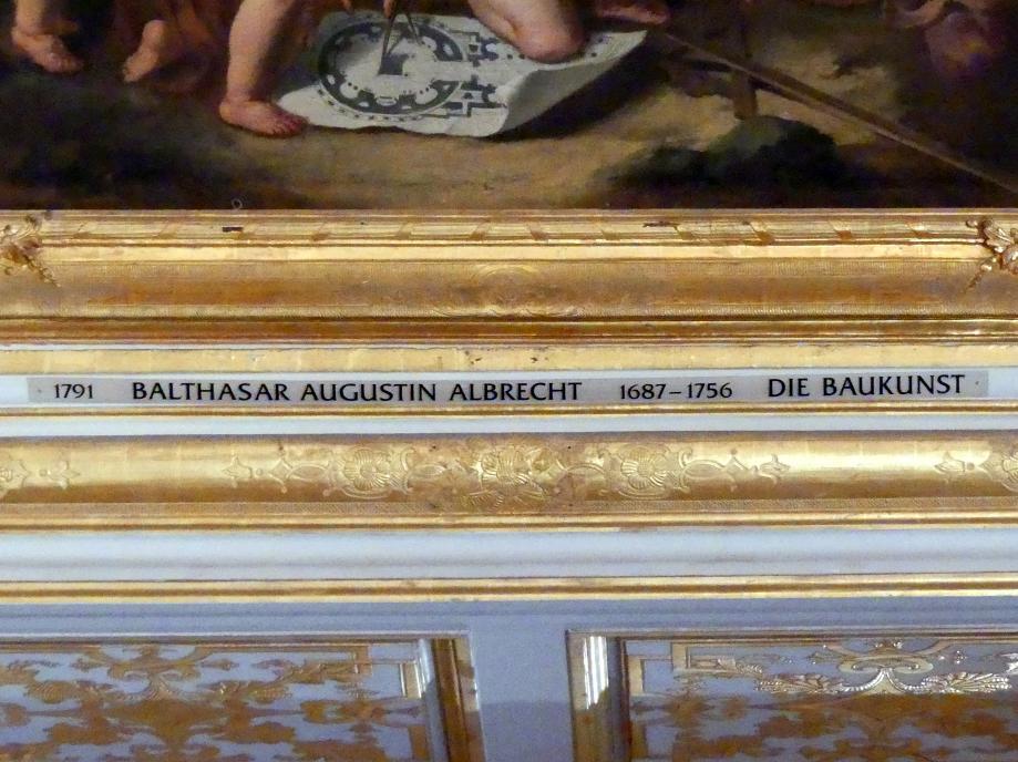 Balthasar Augustin Albrecht: Die Baukunst, Undatiert, Bild 2/2