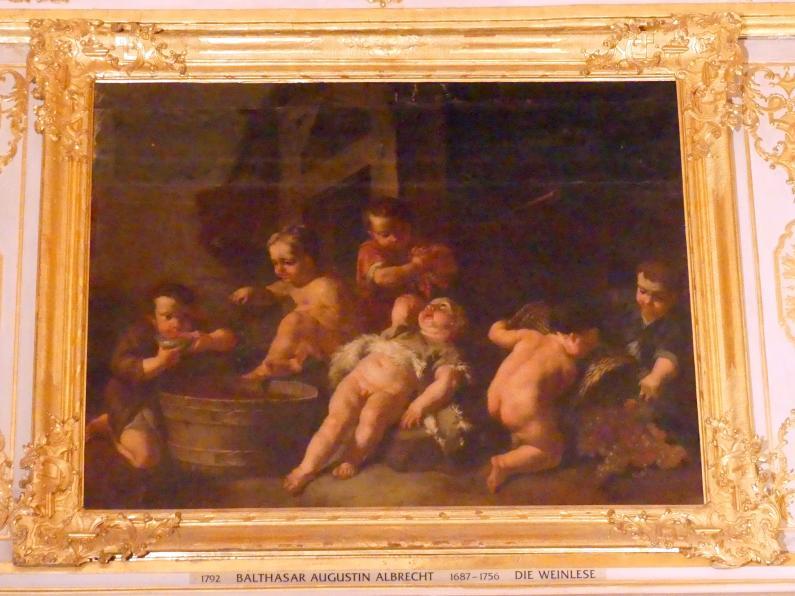 Balthasar Augustin Albrecht: Die Weinlese, Undatiert