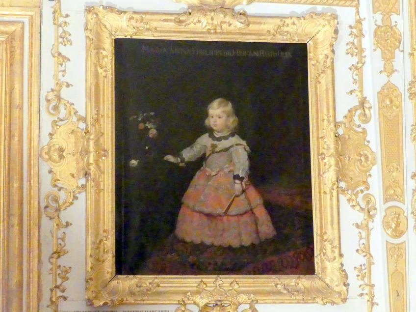Diego Velázquez (Kopie): Infantin Margarita, Undatiert