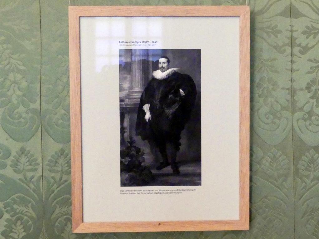 Anthonis (Anton) van Dyck: Bildnis eines Mannes, Undatiert