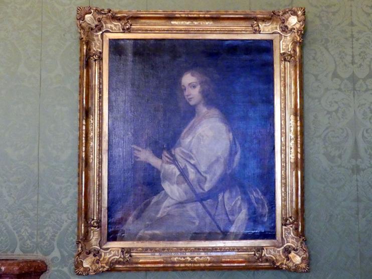Anthonis (Anton) van Dyck: Die Gambenspielerin, Undatiert