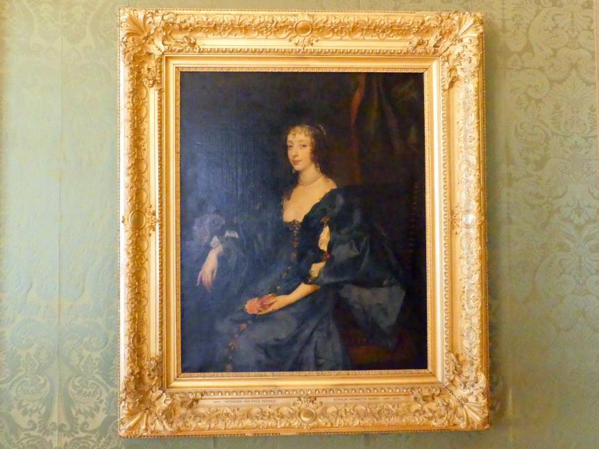 Anthonis (Anton) van Dyck (Schule): Königin Henrietta Maria, Undatiert