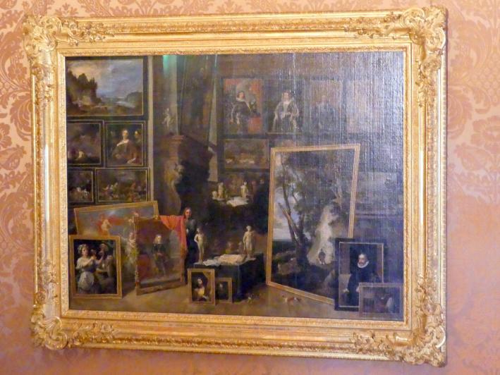 David Teniers der Jüngere: Ansicht der Galerie des Erzherzogs Leopold in Brüssel (II), Undatiert
