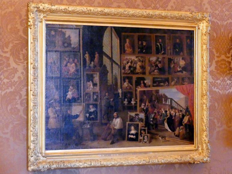 David Teniers der Jüngere: Ansicht der Galerie des Erzherzogs Leopold in Brüssel (I), Undatiert