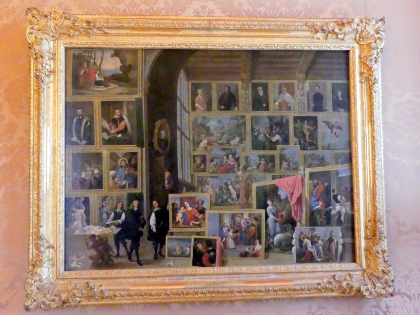 David Teniers der Jüngere: Ansicht der Galerie des Erzherzogs Leopold in Brüssel (IV), Undatiert