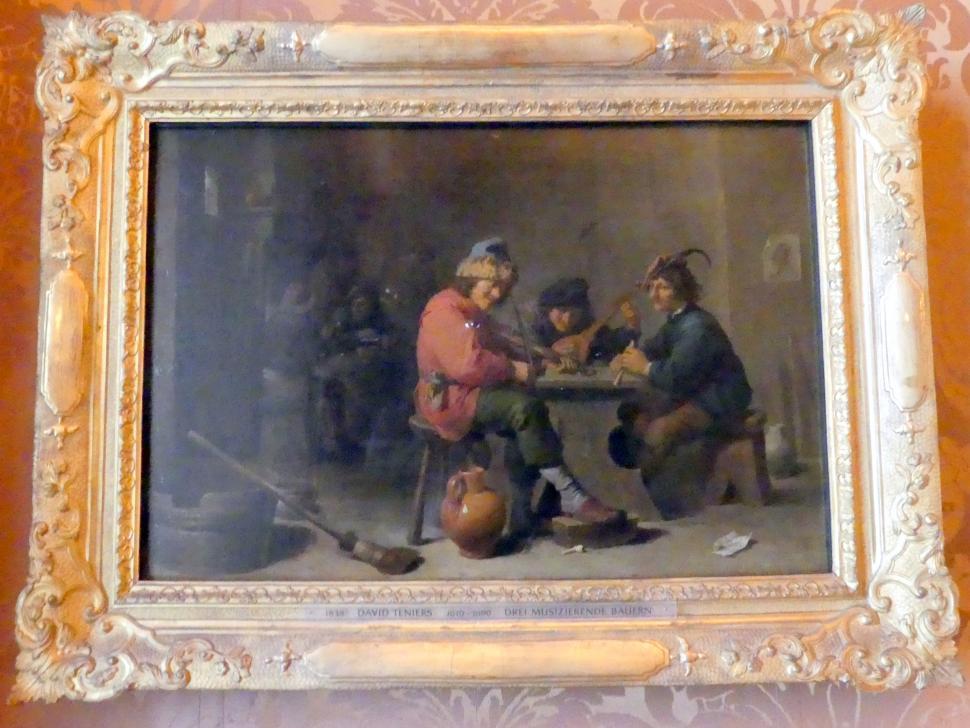 David Teniers der Jüngere: Drei musizierende Bauern, Undatiert