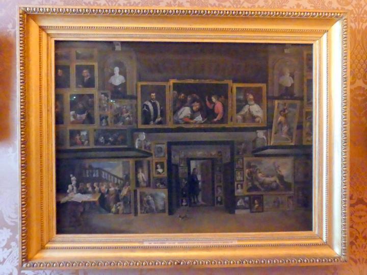 David Teniers der Jüngere: Ansicht der Galerie des Erzherzogs Leopold in Brüssel (III), Undatiert