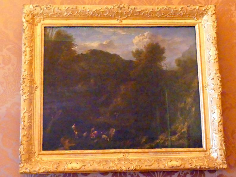 Cornelis Huysmans: Landschaft mit Hirten und Herde, Undatiert