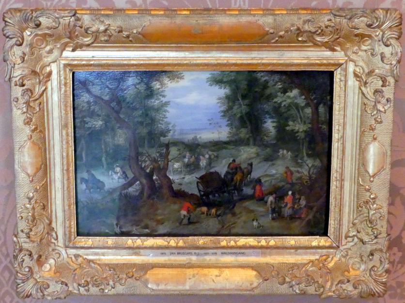 Jan Brueghel der Jüngere: Waldausgang, Undatiert