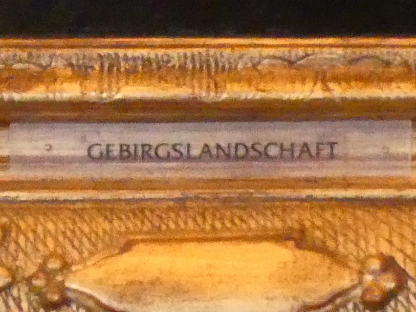 Lucas van Uden: Gebirgslandschaft, Undatiert, Bild 3/3