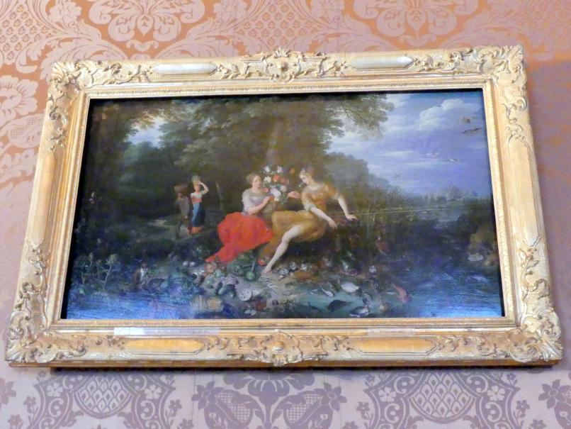 Jan Brueghel der Jüngere: Wasser und Erde, Undatiert