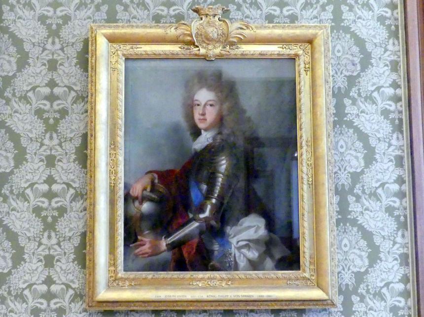 Joseph Vivien: König Philipp V. von Spanien (1683-1746), Undatiert