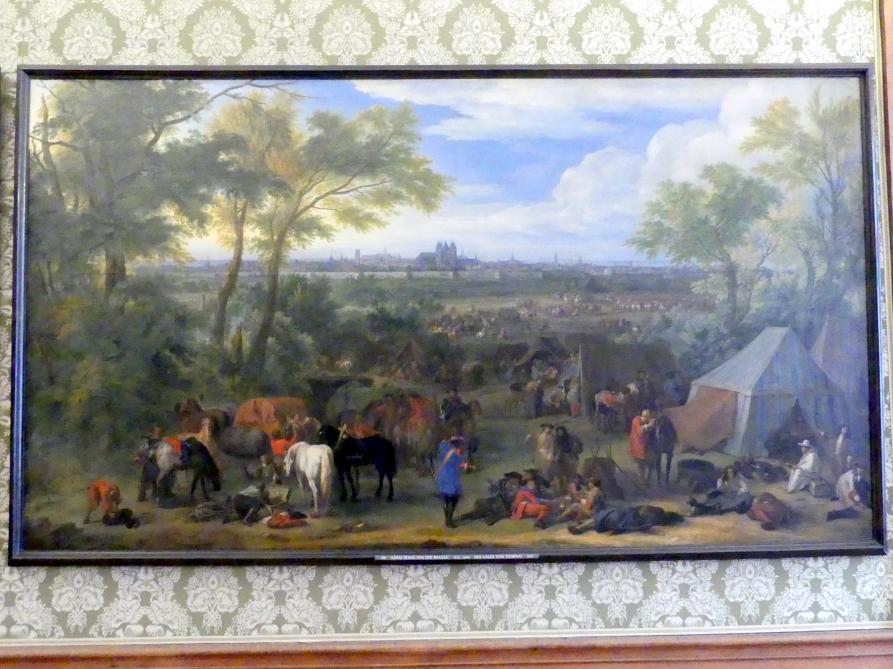Adam Frans van der Meulen: Das Lager von Tournai, 1667