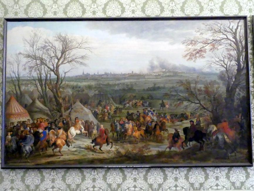Adam Frans van der Meulen: Belagerung von Cambrai, Undatiert