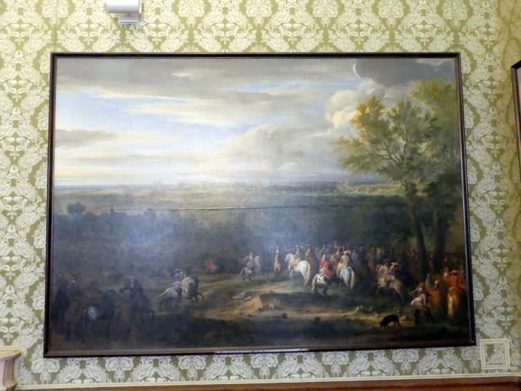 Adam Frans van der Meulen: Die Beschießung von Maastricht, Undatiert