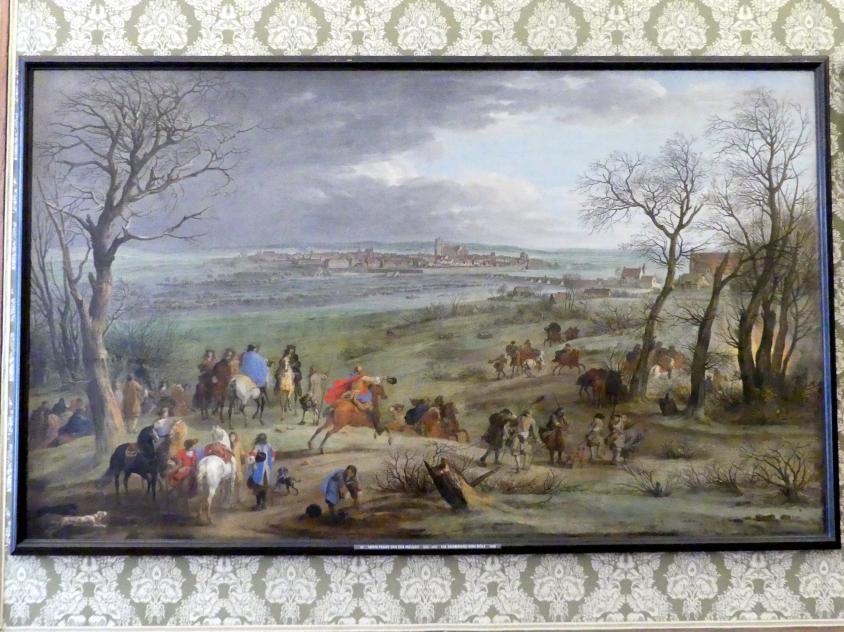 Adam Frans van der Meulen: Die Eroberung von Dôle, 1668