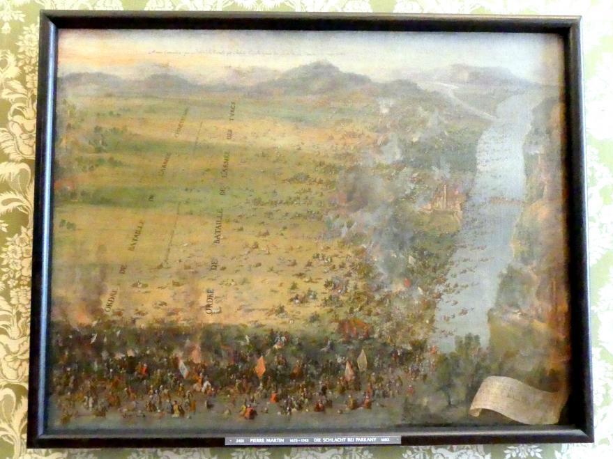 Pierre-Denis Martin: Die Schlacht bei Parkany, 1683