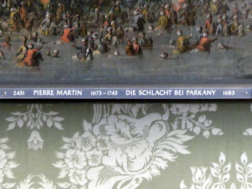 Pierre-Denis Martin: Die Schlacht bei Parkany, 1683, Bild 2/2