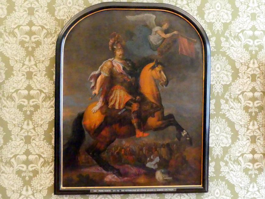 Pierre-Denis Martin: Das Reiterbildnis des Königs Johann III. Sobieski von Polen, Undatiert